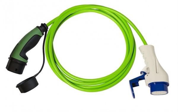 Ladekabel Typ 3 Stecker auf Typ 2 Kupplung 16A/4m