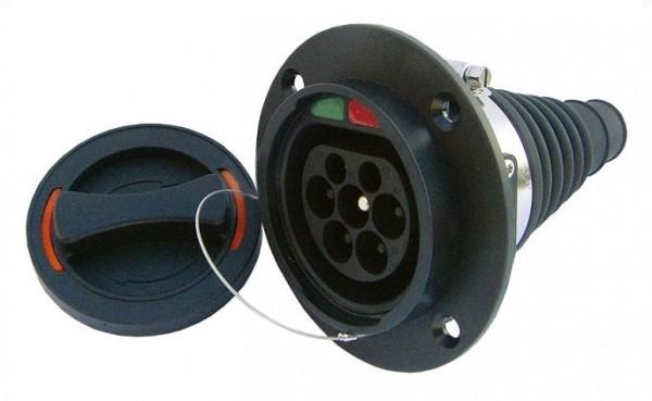 Typ 2 Einbau-Gerätestecker