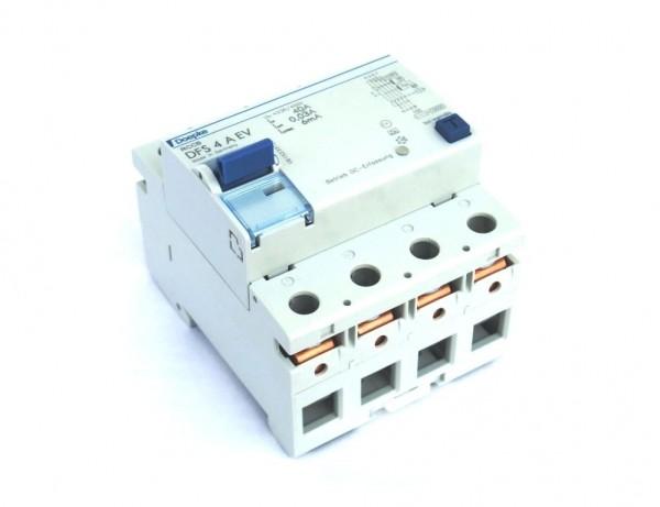 Fehlerstromschutzschalter DFS 4 AEV (Neutralleiter links)